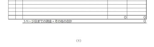 経費帳 消耗品費 下部スクリーンショット