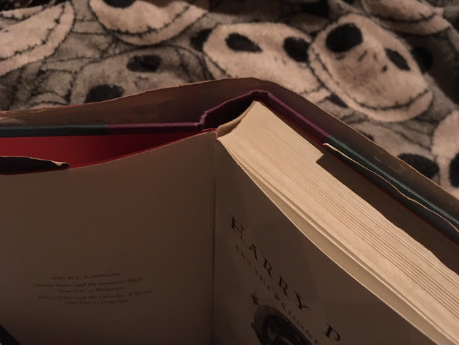 アメリカ合衆国版『ハリー・ポッターとアズカバンの囚人』4.5cmもある分厚い本を通勤中に立って読んでいたら・・・